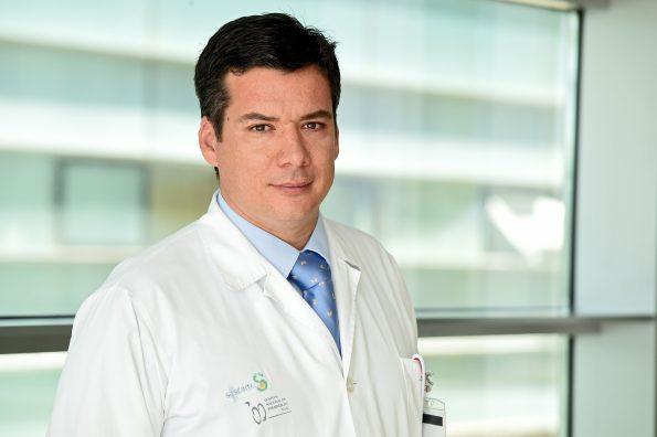 Andrés Barriga. Traumatólogo Hospital Nacional de Parapléjicos.